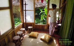 Spa Nature cares using garden medicinal herbs